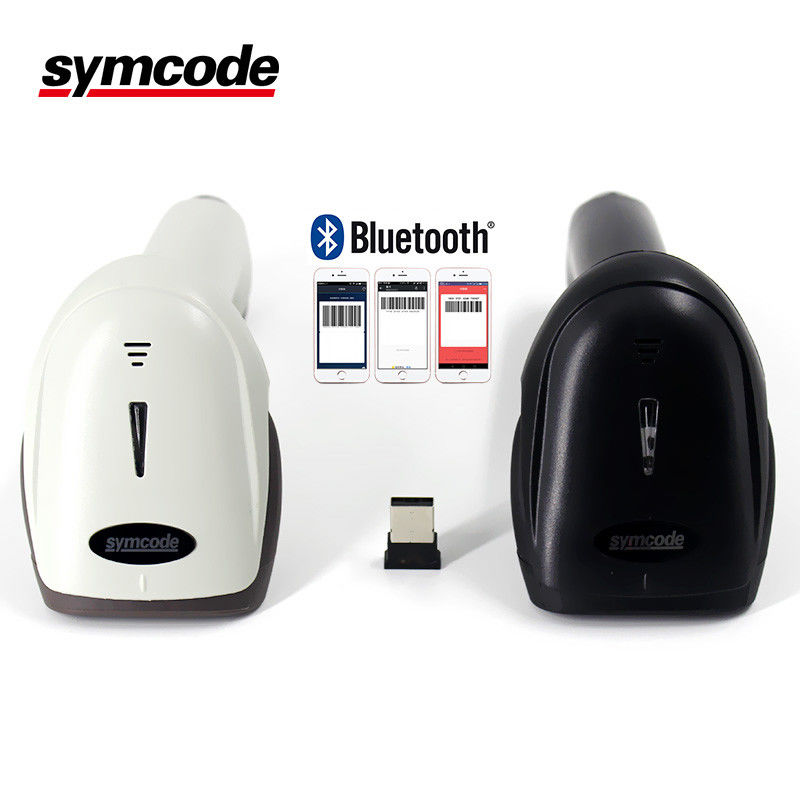 Symcode Bluetooth Barcode Scanner CCD Cordless USB4.0 Receiver SPP HID