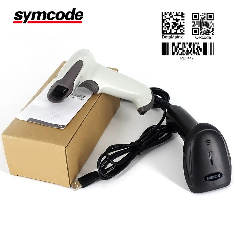 High Sensitivity Symbol 2D Barcode Scanner Data Matrix Four - Chip Dealing Technology