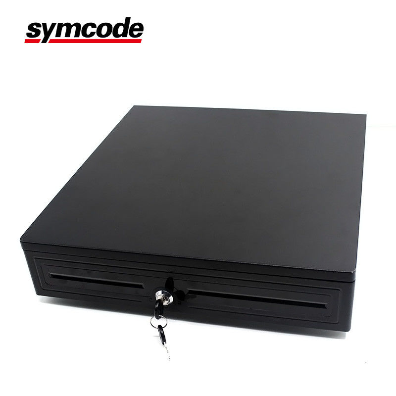 Electronic Under Counter Cash Drawer / Cash Register Box With Key - Lock